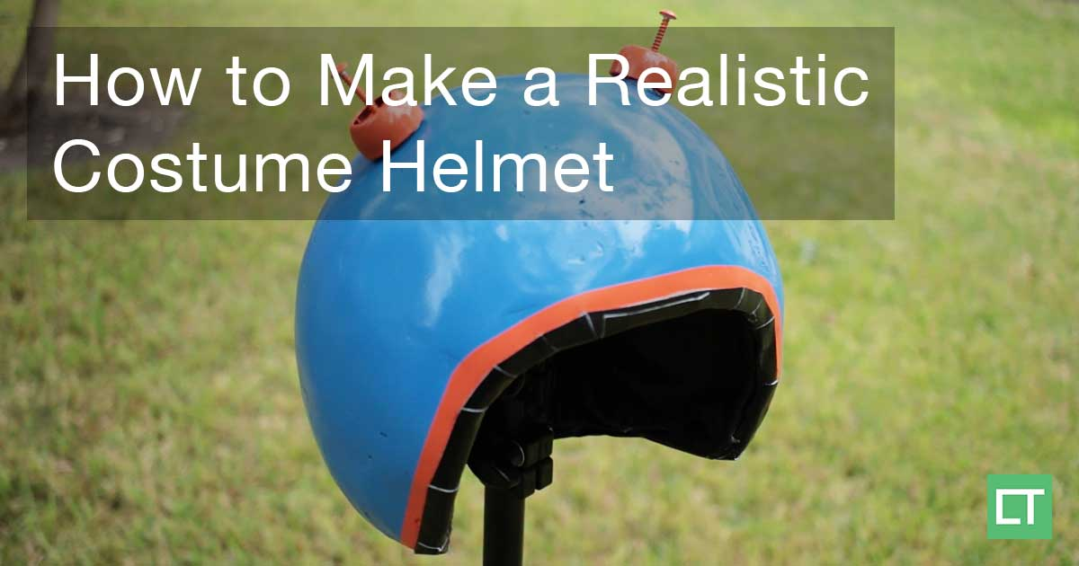 How to Make a Realistic Costume Cosplay Helmet