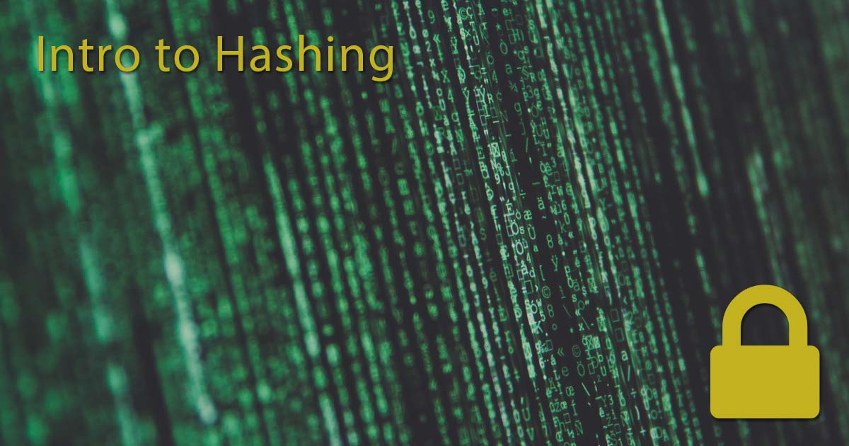 Intro to Hashing